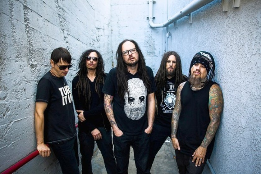 Korn Unleashes the dark side of recording