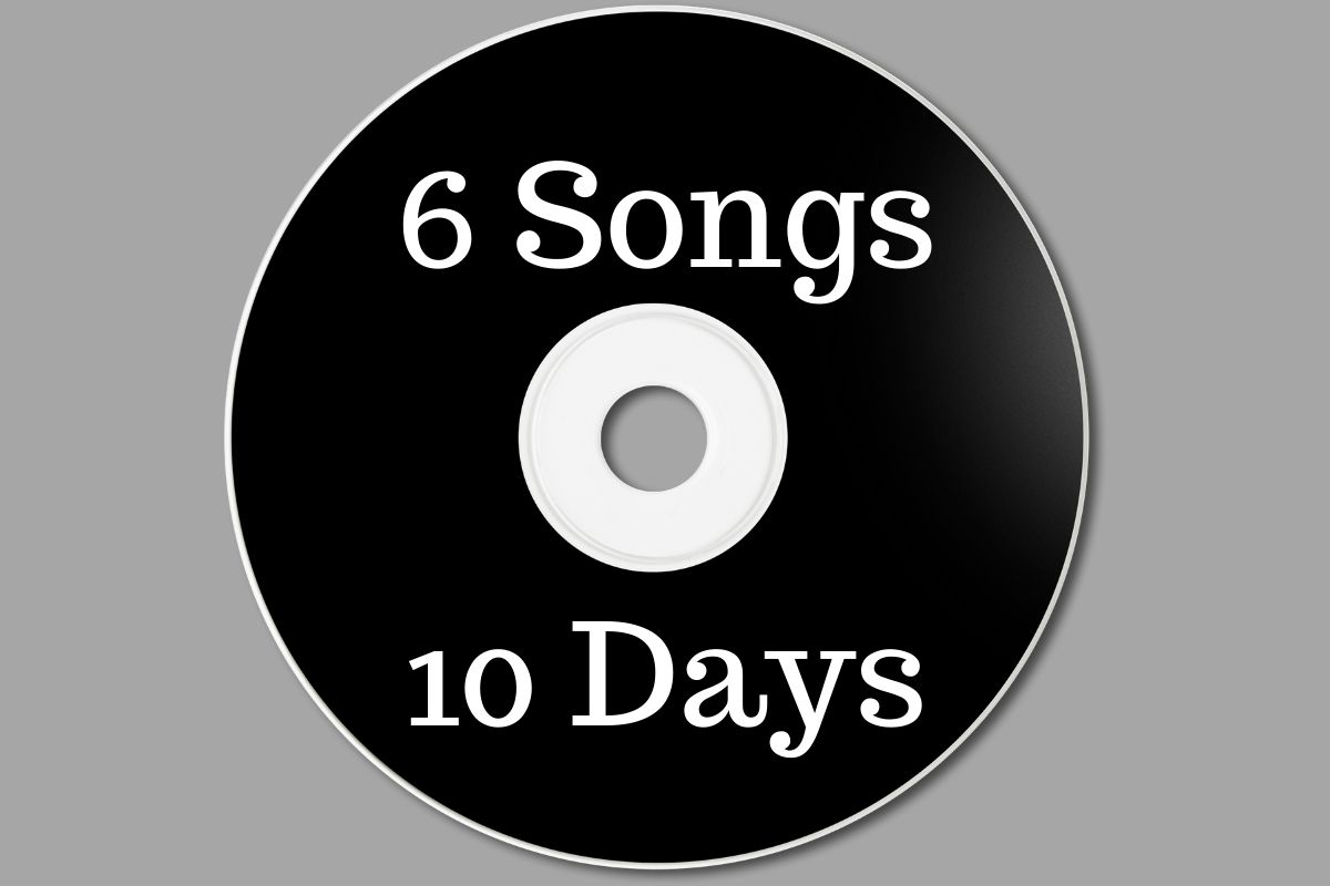 How To Record 6 Songs in 10 Days